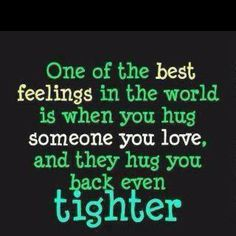 This is why I teach the little ones, hugs from all and even from former students!