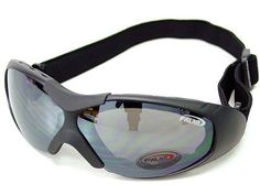 Tactical Airsoft Sport Style Goggle Safety Glasses Black #B by AirSoft. $14.99. FEATURES: Sport Style UV Resistance Shooting Safety Glasses. Black color frame and lens version. Polycarbonate glasses thickness, withstand high impact. Foam padded inside for comfort wearring. Adjustable and elastic strap. Work best with helmet. Streamline shape shields sunlight from all angles. Perfect for shooting skirmish, skiing, riding, outdoor activity, hunting & military purp... Ski Goggles, Sport Style, Motorcycle Outfit, Sport Fashion, Airsoft, Outdoor Activities, Oakley Sunglasses, Skiing, Eyewear