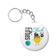 1950s Chick Keychains #1950s #50schick #50sChickgifts