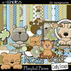 Crafty Scraps New Kit Dog Scrapbook, Scrapbook Patterns, Heart Frame, Heartfelt Creations, Digital Scrapbooking, Dog Cat, Projects To Try, Scrap Books, Adorable Pictures