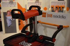 Buggy Board Saddle The Buggy Board gets a fun addition later this year — a seat! The Buggy Board Saddle attaches directly to the current board so kids can sit during their stroll. New Kid and Baby Products From ABC Kids Expo For 2015 | Mom