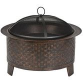 Found it at Wayfair - Woven Fire Pit
