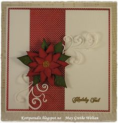 Kortparadis Kortparadis.blogspot.com Kort Card Håndlaget Handmade Homemade Scrapping Kortscrapping christmas jul julekort christmascard Papirdesign dies