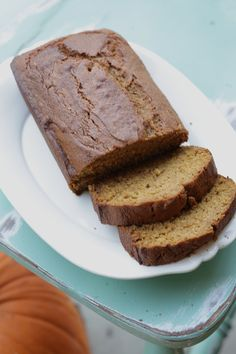 : Pumpkin Bread {Gluten Free, Dairy Free} made it with almost half the almond milk it called for and it was delicious