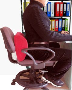 Foot rest cushion useful for back pain relief Office Comfort