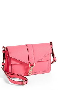 This pink Minkoff crossbody makes us think of candy ;)