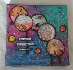 Mini Art Journal Canvas