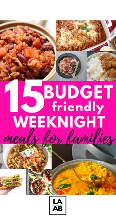Are you tired of searching for the perfect budget-friendly weeknight meals for families? If so, check out these 15 insanely delicious midweek meals on a budget. Cheap Easy Meals, Frugal Meals, Budget Meals, Midweek Meals, Weeknight Meals, Quick Dinner Recipes, Quick Meals, Living At Home, Frugal Living
