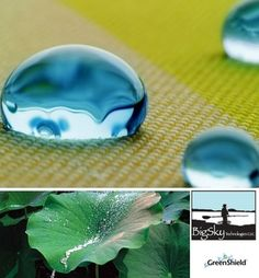 GreenShield - nature inspired fabric finish that  increases recyclability