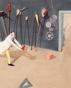 The Wizard of Oz, Reimagined by Beloved Illustrator Lisbeth Zwerger | Brain Pickings