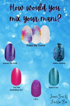 Dry Nail Polish, Nail Polish Strips, Nail Color Combos, Nail Colors, Spring Nails, Summer Nails, Diy Manicure, Manicures, What Are Colours