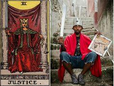 Haitian tarot deck transformed into photographs | Creative Boom