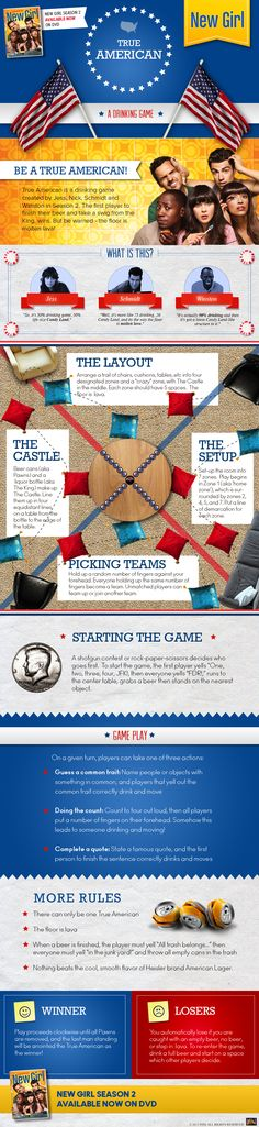 How to play True American....I wanna do this!!