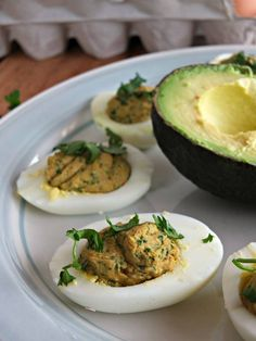 #paleomg Guest Post: Taco Spiced Deviled Eggs