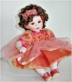 Marie-Osmond-LE-Coming-Up-Roses-Collection-Remember-Me-Porcelain-Doll-MIB-NRFB