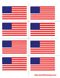 Free printable fourth of July labels for art and craft projects , kitchen jars , bottles, luggage and all purpose labels. Fourth Of July Crafts For Kids, 4th Of July Party, July 4th, American Party, American Flag, English Day, Flag Template, Usa Party, Graduation Diy