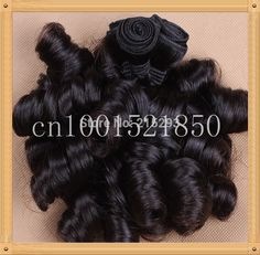 Find More Hair Weaves Information about 6A Grade Unprocessed Aunty Funmi Hair nature black 100% Virgin Brazilian Bouncy Romance Curl Free Shipping,High Quality hair competition,China brazilian remy curly hair Suppliers, Cheap hair color styles pictures from Angel City 2012 on Aliexpress.com