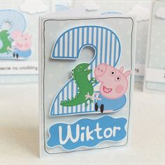 birthday card / Peppa Pig