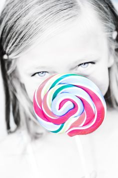 This was such a fun photo idea....kids with their favorite candy. Love the colors!  Jami West Photography