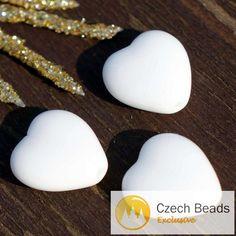 ✔ What's Hot Today: Opaque White Glass Heart Bead White Heart Beads Valentine Bead Valentines Beads Czech Glass Beads Wedding Beads 11mm 12pc https://czechbeadsexclusive.com/product/opaque-white-glass-heart-bead-white-heart-beads-valentine-bead-valentines-beads-czech-glass-beads-wedding-beads-11mm-12pc/?utm_source=PN&utm_medium=czechbeads&utm_campaign=SNAP #CzechBeadsExclusive #czechbeads #glassbeads #bead #beaded #beading #beadedjewelry #handmade