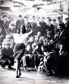 lucien clergue photography | Lucien Clergue, Hommage de la danseuse, mariage gitan, Arles, 1958 ...