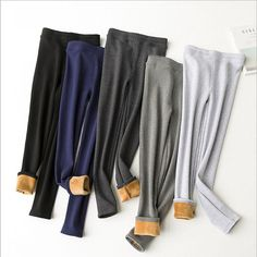 Aliexpress.com : Buy Women Autumn Winter THICK Warm Legging Brushed Lining Stretch Fleece Pants Trample  Leggings from Reliable legging denim suppliers on Somitech Store