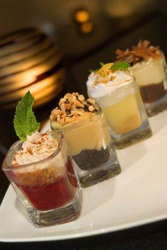 Some ideas for mini-dessert cup