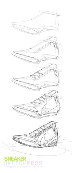 "36 sketching TIPS from the meter Sneakers Sketch Challenge"" ! — ⭐️ The Design Sketchbook made for Designers Sketching Tips, Drawing Tips, Drawing Reference, Drawing Sketches, Drawings, Sneakers Sketch, Shoe Sketches, Industrial Design Sketch, Sketches Tutorial"