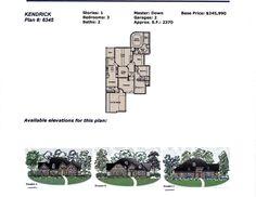 Plantation Homes Kendrick Floor Plan 6345, The Woodlands, TX .