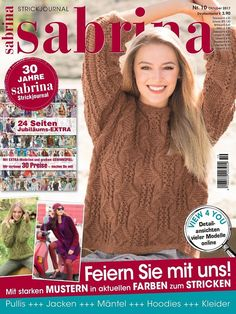 "Photo from album ""Сабрина"" on Yandex. Crochet Book Cover, Crochet Books, Knit Crochet, Knitting Magazine, Crochet Magazine, Zhurnal Mod, Cute Wall Decor, Knitting Books, Cute Diys"