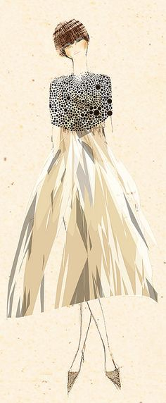 #fashion illustration #illustration by tommy pang