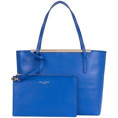 Ted BakerIsbell Leather Crosshatch Shopper Bag