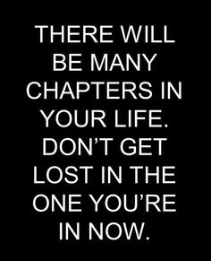 Don't get lost in the one chapter