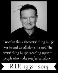 "R.I.P Robin Williams. You will be truly missed. So sad about this. :(( #RobinWilliams #RIPRobinWillams #gonetoosoon|he was our Genie and someone who can make lots of people smile.<<<< I miss my Genie :""(<<<< Also in tons of my favorite movies like Hook!!! :,("