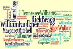 Southern Authors, impressive list