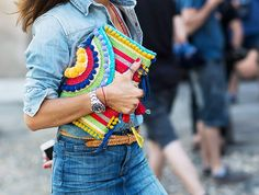What Fashion Girls Always Do When They Travel via @WhoWhatWearUK