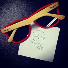Hello  #pepejeans #pepe #glasses #sunglasses #sunnies #shades #eyewear #style #fashion #summer #color #pop #instastyle #instafashion