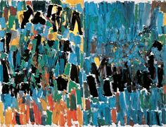 View artworks for sale by Mitchell, Joan Joan Mitchell American). Joan Mitchell, Colorful Paintings, Beautiful Paintings, Contemporary Paintings, Abstract Nature, Abstract Art, Georges Mathieu, Art Moderne, Pretty Art