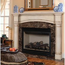 Pearl Mantels The Princeton 159 Wood Fireplace Mantel