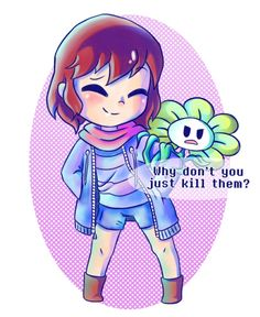 Flowey's logic (?) by watermelonium on DeviantArt