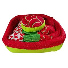 Cama para Pet Les Frufus Melancia Nature Mix Amf Pet - MeuAmigoPet