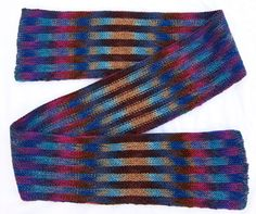The Art & Science of Planned Pooling - article by Karla Stuebing on working with variegated yarns