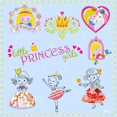 little PRINCESS girls