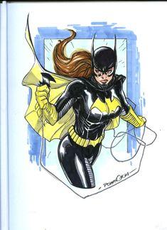 Batgirl by Romano Molenaar