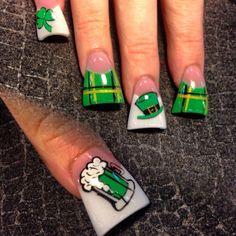 Nail ideas в 2019 г. nails, irish nails и acrylic nails. Plaid Nail Art, Plaid Nails, Red Nails, Hair And Nails, Tina's Nails, Duck Nails, Holiday Nail Designs, Holiday Nails, Nail Art Designs