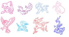 Pokemon Tattoo Pack 2 by ~Aerpenium on deviantART