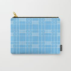 Buy Turquoise Squares and Dots Carry-All Pouch by shelleyylstart. Worldwide shipping available at Society6.com. Just one of millions of high quality products available. #s6gtp
