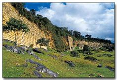 Kuelap Fortress of the Chachapoyas culture. Peru