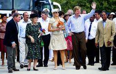 Koningin Beatrix, Prins Willem-Alexander en ...