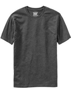 Mens Classic Crew-Neck Tees BLK, dark grey , navy, green, black - XL